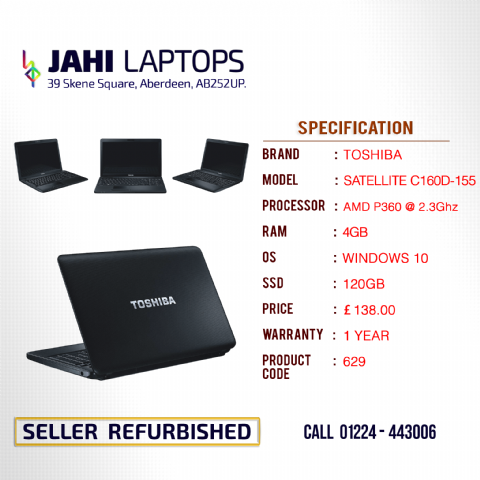 TOSHIBA SATELLITE C160D-155